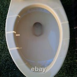 American Standard Yellow 4049 Tank Toilet Stains & Chips Looks like Harvest Gold