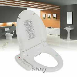 Bidet Fresh Water Spray Kit Electric Toilet Seat Attachment with Dual Nozzle