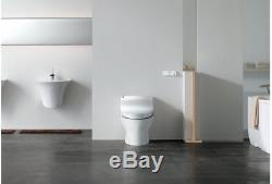 Bio Bidet Fully Integrated Auto Flush Toilet Commode with Bidet Functions System