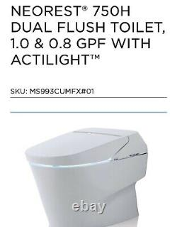 Brand NEW Toto Neorest Toilet And Bidet 750 H. Includes All parts