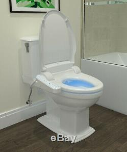 Brondell CL510 Electric Bidet Toilet Seat Elongated White + Remote Open Box