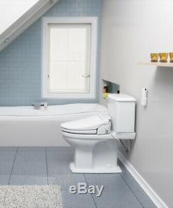Brondell CL950 Electric Bidet Toilet Seat Elongated White + Remote Open Box