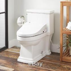 Browning Siphonic Elongated One Piece Toilet With Electronic Bidet