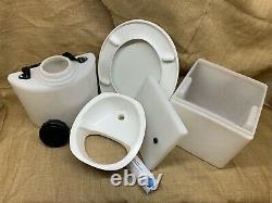 Build-Your-Own Composting Toilet Kit (without frame) with Glitter Separator/Bung