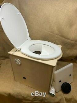 Build-your-own'Floozy' Composting Toilet kit for eco off-grid living