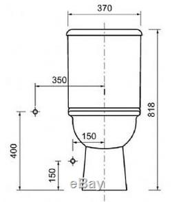 Celino All In One Combined Bidet Toilet With Soft Close Seat