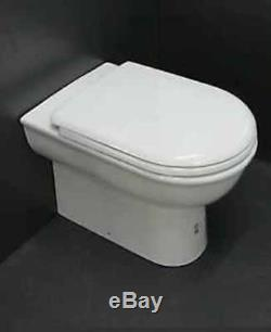 Creavit Selin Back To Wall Combined Bidet Toilet wc Pan Top Fixing Soft Seat