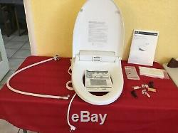 DXV D28005ars141-415 At100 Electronic Bidet Smart Elongated Toilet Seat, Canvas