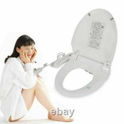 Digital Smart Bidet Seat Wahslet Toilet Seat Dry Dual Nozzle Simple to Install