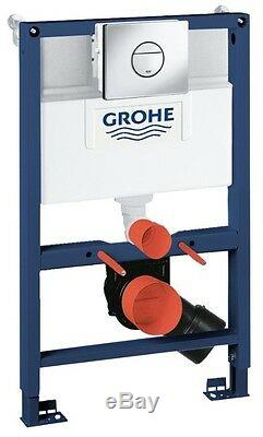 Grohe 38868 000 Nova Rapid SL 3 in 1 WC Set 0.82m Concealed Frame and Cistern