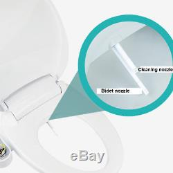 HB9000 Non Electric Bathroom Toilet Bidet Seats with Self-cleaning Dual Spray