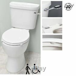 ICare Disabled Doc M Close Coupled Toilet Comfort Height Pan Lever Cistern Seat