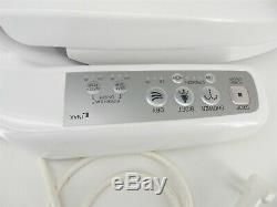 INAX CW-H230-US/BW1 Heated Toilet Bidet Seat Shower Dry with Side Panel