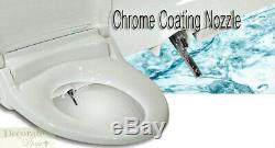 INFINITY BIDET ELONGATED XLC-3000 Toilet Seat Remote Endless Warm Water Wash New