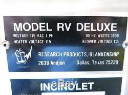 Incinolet Model RV Deluxe System Electric Incinerating Waterless Toilet ma 75