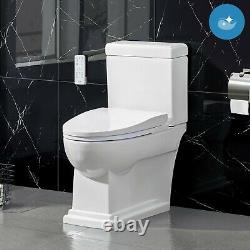Irenne Classic Smart Bidet Toilet by OVE, LED Night Light withAuto Open/Close Lid