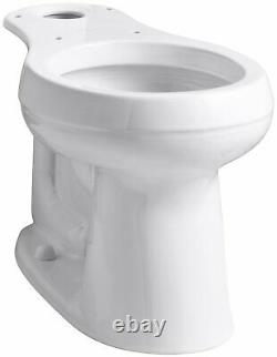 KOHLER 4829-0 Cimarron Comfort Height Round-Front Toilet Bowl with 10 Rough-In