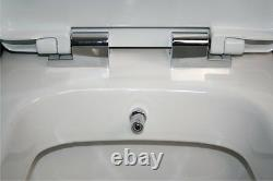 Laura Open Back All In One Combined Bidet Toilet With Soft Close Seat