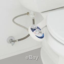 Luxe Bidet Neo 320 Hot & Cold Water Non-Electric Mechanical Bidet Toilet Seat