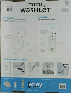 NEW Toto Washlet Bidet Elongated Toilet Seat withRemote A200 T1SW2024#01 Sealed