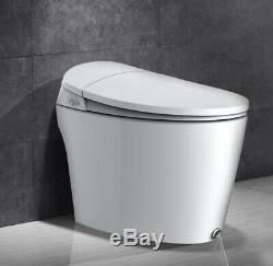 Narto Intelligent Toilet K81, One Piece Tankless, Smart, White