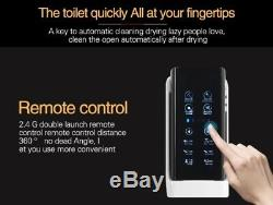 One-Piece Smart Bidet Toilet with Remote, Hot water, Seat heating, Auto flush