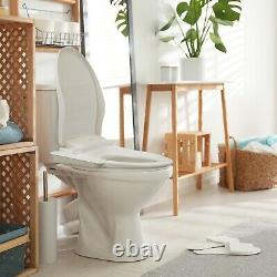 SmartBidet SB-100C Electric Bidet Seat for Elongated Toilets with Control Panel