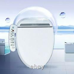 Smart Bidet Toilet Seat Cleaning 2 Nozzle & Air Dryer & Heated Seat Easy-Install