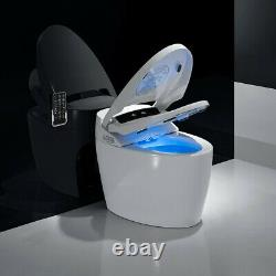 Smart Toilet with Advance Bidet & Soft Closing Seat Elongated One Piece Toilet