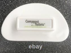Smooth Edge urine diverter with Cover THE BEST JUST GOT BETTER compost toilet