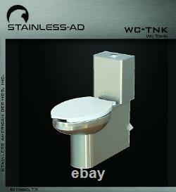 Stainless AD / Stainless Toilet with Water Tank WC-TNK