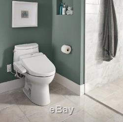 TOTO C100 Elongated Toilet Electric Water Spray Nozzle Bidet Heated Seat White
