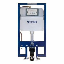 TOTO DuoFit In-Wall Toilet Tank with Dual-Max Dual-Flush 1.28 and 0.9 GPF Sys