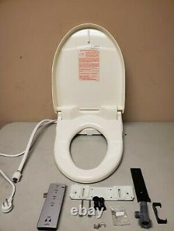 TOTO SW2044#12 C200 Electronic Bidet Toilet Cleansing Water Beige USED READ NOTE