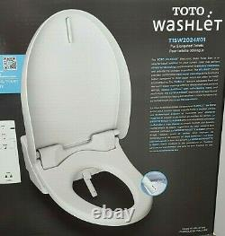 TOTO WASHLET BIDET Elongated Electric Toilet Seat with Remote T1SW2024#01