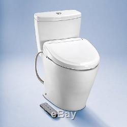 TOTO Washlet S350e Elongated Bidet Toilet Seat with Auto Open and Close and ewat