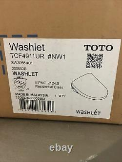 TOTO Washlet TCF4911UR NW1 White brand new and complete TOTO SW3056#01 bidet