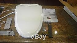 Toto S300e elongated Bidet Toilet Seat in Cotton with ewater+ Sanitization