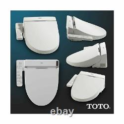 Toto SW2034#01 C100 Electronic Bidet Toilet Cleansing Elongated Cotton White New
