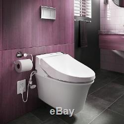 Toto SW2044#01 C200 Elongated Closed Front Toilet Seat with Lid and Washlet