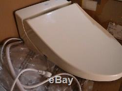 Toto Sw2044-12 C200 Washlet Elongated Toilet Seat With Control Beige