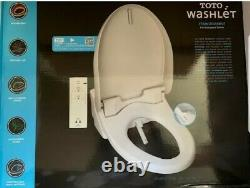 Toto Washlet Easy Install Electric Elongated Bidet Toilet Seat Pre-owned