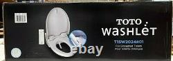 Toto Washlet Easy Install Electric Elongated Bidet Toilet Seat T1SW2024#01