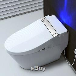 WOODBRIDGE B0960S Compact One-Piece Dual Flush Toilet with Integrated Bidet