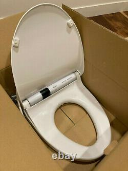 White TOTO Washlet S300 Complete package with Remote, Mount, and Manuals